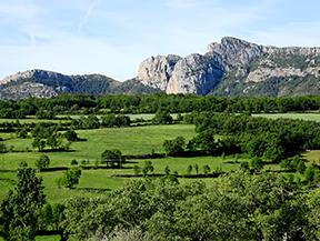 La Geganta Adormida, itinerari hist�ric pel pla de Corts