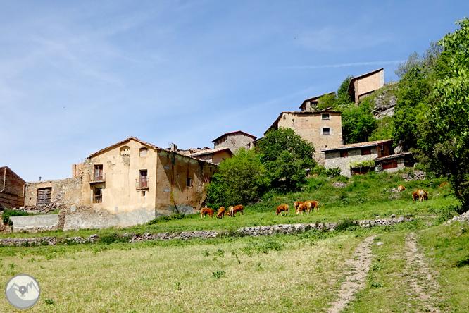 La Geganta Adormida, itinerari històric pel pla de Corts 1