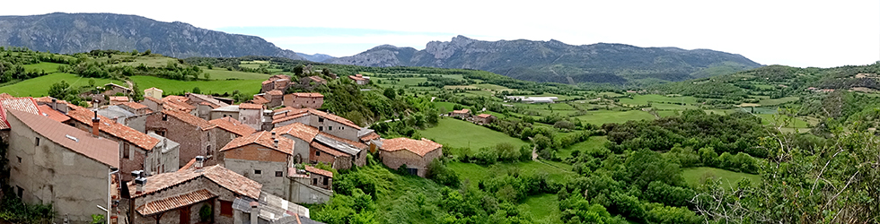 La Geganta Adormida, itinerari històric pel pla de Corts
