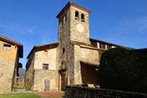 Campanar de Santa Margarida de Bianya.