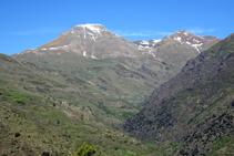 La vall de Mainera i el Montsent de Pallars.