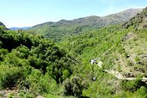 Vall d´Àssua des d´Escàs.