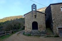 Església de Sant Lleïr de la Valldora.