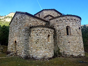 De la Vall d�Ora al pla de Busa i Sant Pere de Graudescales