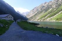 Últims metres fins a l´Hôtellerie du Lac de Gaube.