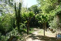 Àrea de descans de la Font del Caner.