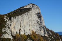 L´Avedoga d´Adons, la segon cota més alta de la serra. Des de molts indrets del Pallars la seva silueta és inconfusible.