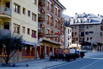 Hotel Les Brases a Sort.