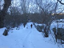 Seguim pel mateix camí prop del Rec de Jovell.