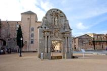 Arc de Sant Benet.