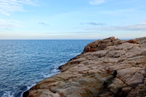 El relleu abrupte de la Costa Brava.