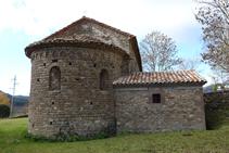 Absis de l´església de Santa Maria de les Lloses.