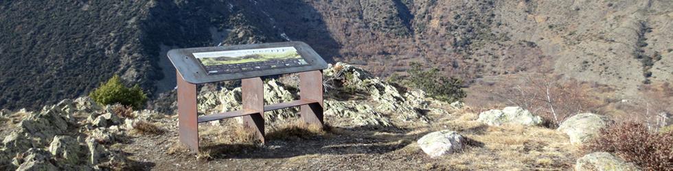 Mirador del Cap de la Roca a Esterri de Cardós