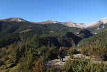Arribem a una terrassa natural des d´on novament les vistes són espectaculars.
