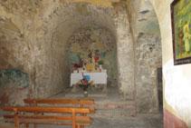 Interior de l´església de San Félix.