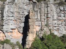 Formacions curioses de roca.