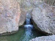 Riu del barranc de Sant Pere.