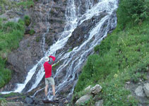Cascada del barranc de la Tina.