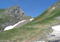 Coll de la Pala Clavera (2.522m).
