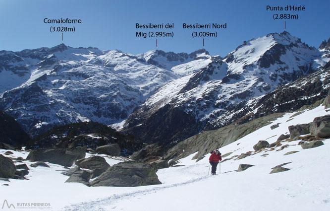 Montardo (2.833m) i Montardo Petit (2.781m) per Cavallers 1