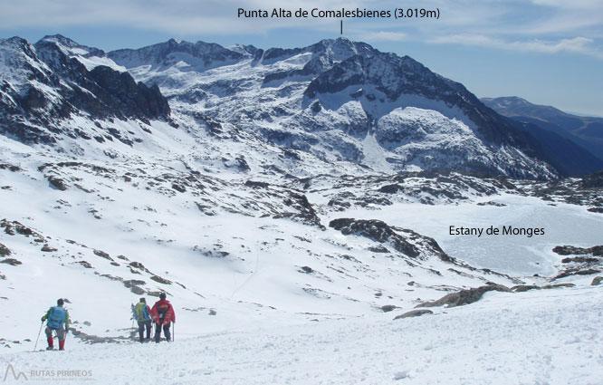 Montardo (2.833m) i Montardo Petit (2.781m) per Cavallers 2