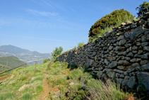 Antics murs de pedra seca.