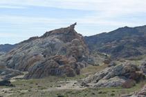 Ens apropem cap la roca coneguda com S´Àliga.