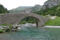 Pont romànic de Bujaruelo.