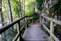 El camí arran del riu Garona.