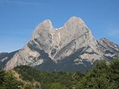 Pedraforca (2.506m) pel coll del Verdet i l´Enforcadura