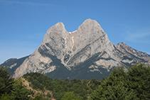 L´aproximació per la vall de Saldes fins al punt d´inici de la ruta ens ofereix aquesta imatge impressionant.