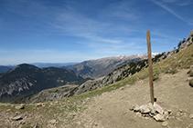 Coll del Verdet, a 2.244m d´altitud.