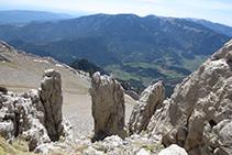 Abans d´arribar a l´Enforcadura, unes roques amb formes curioses ens sorprenen.