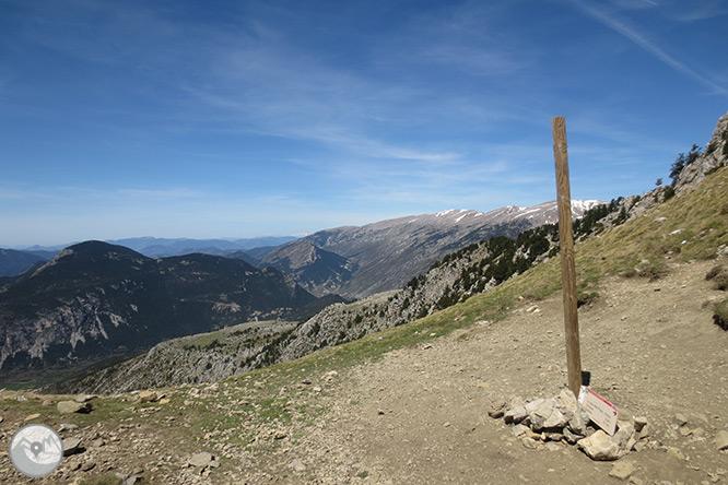 Pedraforca (2.506m) pel coll del Verdet i l