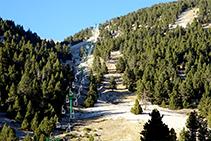 Telecadira del Clot de la Vall.