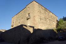 Castell de Santa Pau.