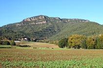 Muntanya de Sant Julià del Mont.
