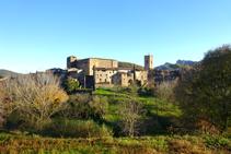 La vila de Santa Pau.