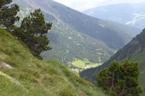 Pendents sobre la vall de Ransol.