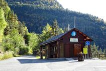 Oficina d´informació del Parc Natural de la Vall de Sorteny.