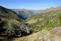 Mirador de la vall de Sorteny.