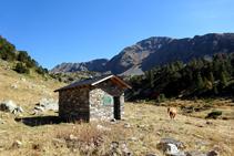 Cabana i pleta de la Serrera.