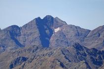 Massís de la Pica d´Estats: Punta de Gabarró, Pica d´Estats, Verdaguer i Montcalm.