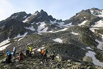 Coll de les Calmetes, a 2.330m d'altitud.