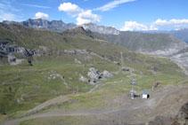 Vall de Les Espécières, on hi ha l´estació d´esquí de Gavarnie-Gèdre.