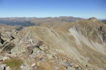 Tram ample de cresta a la cota 2.734m.