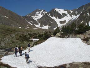 Carlit (2.921m) des del llac de les Bulloses