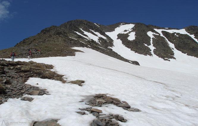 Carlit (2.921m) des del llac de les Bulloses 1
