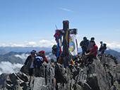 Pica d�Estats (3.143m) des de la Vall Ferrera