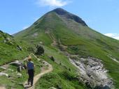 Pic Arlas (2.044m) des del coll de la Piedra de San Martín